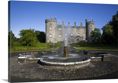 Kilkenny Castle rebuilt in the 19th Century, Kilkenny City, County Kilkenny, Ireland