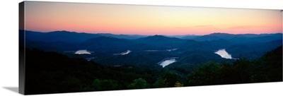 Lake, Fontana Lake, North Carolina