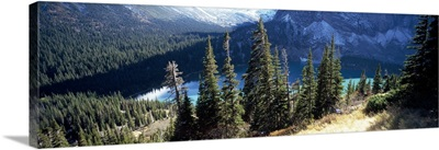 Lake, Grinnell Lake, US Glacier National Park, Montana