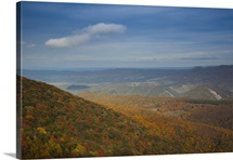 Landscape viewed from Spruce Knob