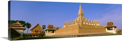 Laos, Vientiane, Pha That Luang Temple