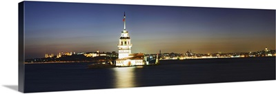 Lighthouse in the sea, Maiden's Tower, Kiz Kulesi, Istanbul, Turkey II