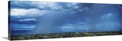 Lightning and Rainstorm