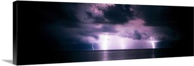 Lightning Bolts over Gulf Coast FL