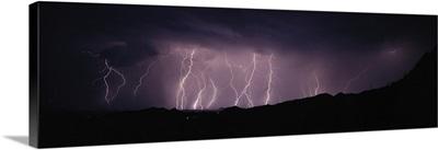 Lightning Storm in Avra Valley