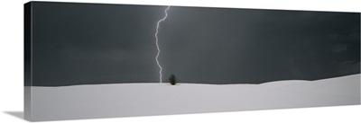Lightning Strike White Sands National Monument NM