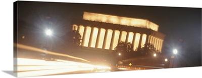 Lincoln Memorial at Night Washington DC