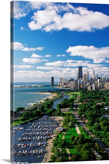 Lincoln Park and Diversay Harbor Chicago IL