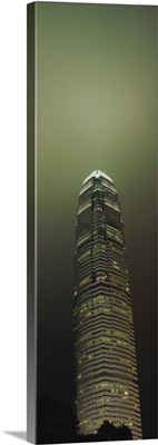 Low angle view of a building, International Finance Centre, Hong Kong, China