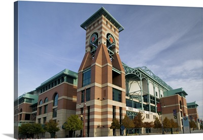 Low angle view of a building, Minute Maid Field, Houston, Texas