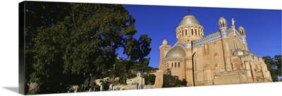 Low angle view of a church, Notre Dame DAfrique, Algiers, Algeria