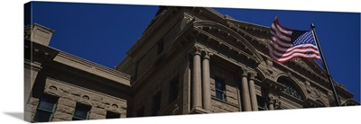 Low angle view of a courthouse, Fort Worth, Texas