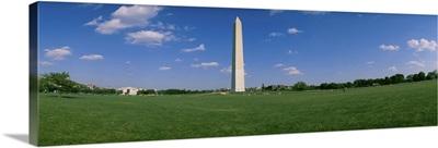 Low angle view of a monument, Washington Monument, Washington DC