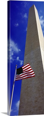 Low angle view of an obelisk Washington Monument Washington DC