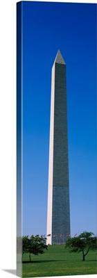 Low angle view of the Washington Monument, Washington DC