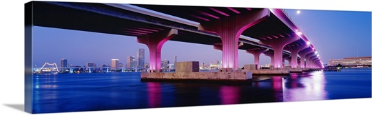 MacArthur Causeway Biscayne Bay Miami FL