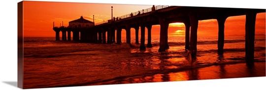 Manhattan Beach Pier, Manhattan Beach, Los Angeles County, California
