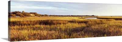 Marsh at sunset, St. Augustine Beach, St. Johns County, Florida