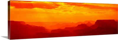 Mesas and Buttes Grand Canyon National Park AZ