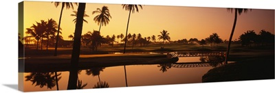 Mexico, Isla Navidad, golf course
