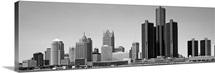 Michigan, Detroit, Skyscrapers in the city