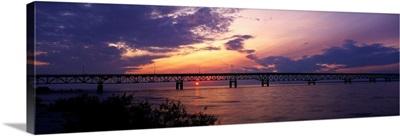 Michigan, Macinaw City, Mackinac Bridge