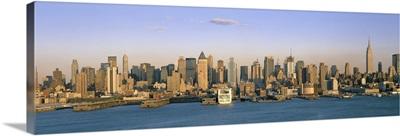 Midtown Manhattan East River New York City NY