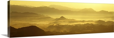 Mist Hills Miyazaki Japan