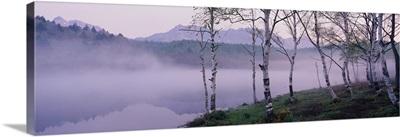 Mist over a Lake, Togakushi, Nagano, Japan
