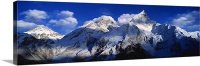 Mnts Everest & Nuptse Sagamartha National Park Nepal