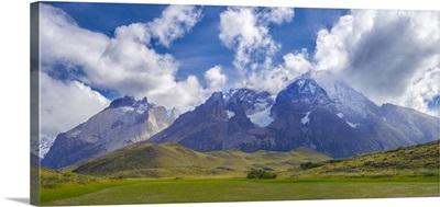 Monte Almirante Nieto and Cerro Paine Grande, Torres Del Paine National Park, Chile