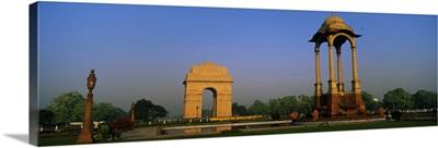 Monument in the city India Gate New Delhi India