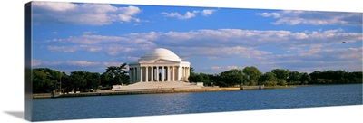 Monument on the waterfront, Jefferson Memorial, Washington DC