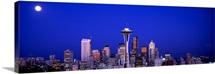 Moonrise Seattle WA