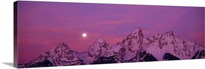 Moonscape Grand Teton National Park WY