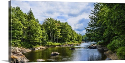 Moose River in the Adirondack Mountains, New York State