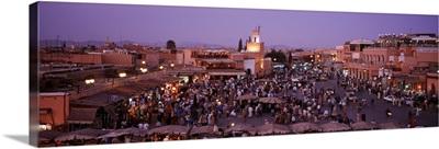 Morocco, Marrakech, Djemma el Fina