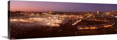 Morocco, Marrakech, Jemaa el Fna