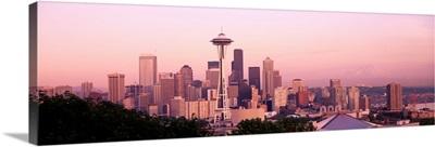 Mount Rainier & Space Needle Seattle WA