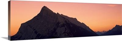 Mount Rundle Banff National Park Canada