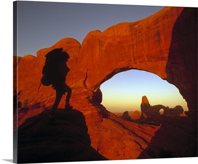 Mountaineering Arches National Park UT