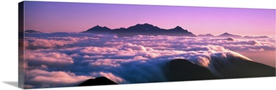 Mountaintop Cloudscape Japan