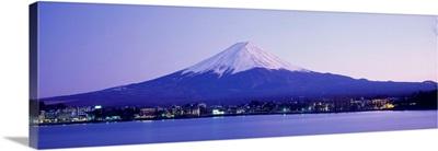 Mt Fuji & Lake Kawaguchi Yamanashi Japan