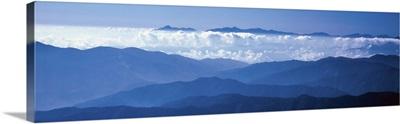 Mt Narikura & cloud forest Nagano Japan
