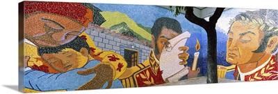 Mural on a wall La Hoyada Caracas Venezuela