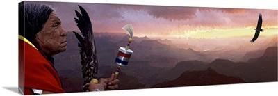 Native American Indian Grand Canyon AZ