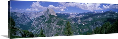 Nevada Fall and Half Dome Yosemite National Park California