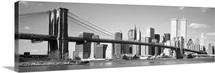 New York City, Hudson River, Brooklyn Bridge