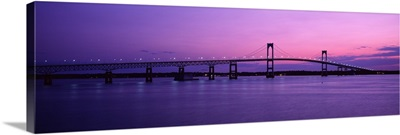 Newport Bridge Conanicut Island Newport RI