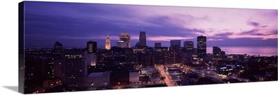 Night Cleveland OH